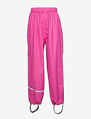 CeLaVi - Rainwear pants, solid - hosen - real pink - 0