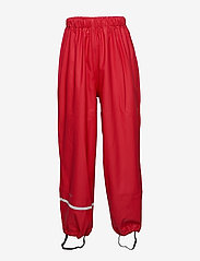 CeLaVi - Rainwear pants, solid - bukser - red - 0