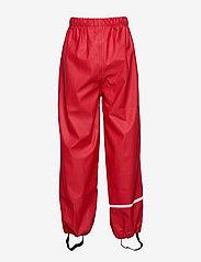 CeLaVi - Rainwear pants, solid - bukser - red - 1