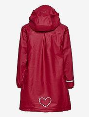 CeLaVi - Raincoat  - w. fleece - jassen - rio red - 1