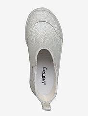 CeLaVi - Short wellies w. glitter - bottes en chaouthouc - silver - 3