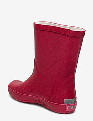 CeLaVi - Wellies w. glitter - kumisaappaat - real pink glither - 2