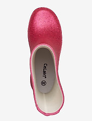 CeLaVi - Wellies w. glitter - kumisaappaat - real pink glither - 3