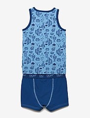 CeLaVi - Underwear set w.boy print - bielizna komplet - dusk blue - 1