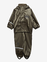 CeLaVi - Rainwear - solid metallic - zestawy - olive metalic - 0