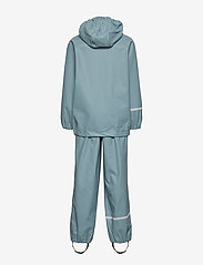 CeLaVi - Basic rainwear set -Recycle PU - ensembles - smoke blue - 2