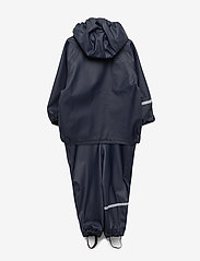 CeLaVi - Basic rainwear set -solid PU - ensembles - navy style 1145 - 1