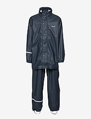 CeLaVi - Basic rainwear set -solid PU - ensembles - navy style 1145 - 2