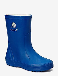 Basic wellies -solid - rubberboots - oceanblue