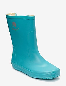 Basic wellies -solid - rubberboots - turquise