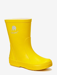 Basic wellies -solid - YELLOW