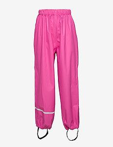 Rainwear pants, solid - spodnie - real pink