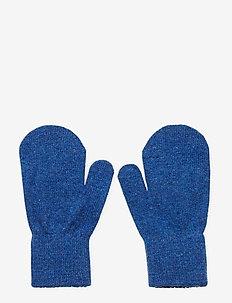 Basic magic mittens - wełna - blue