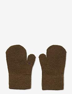 Basic magic mittens - wool - military olive