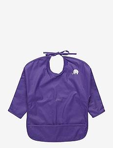 Basic PU-apron LS - hagesmække - purple
