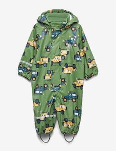 Rainwear Suit - AOP - zestawy - elm green