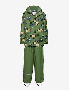 Rainwear Set - AOP - zestawy - elm green