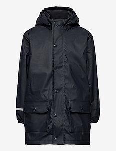 Raincoat  - w. fleece - jakker - navy