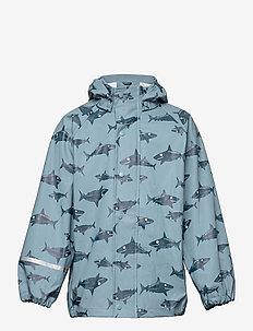 Rain Jacket - AOP - jassen - smoke blue