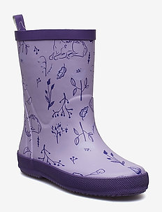 Wellies - AOP - VIOLET TULIP