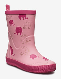 Wellies - Elephant  AOP - LIGHT ROSE