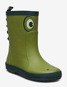 Wellies - Front Print - rubberlaarzen - galla green