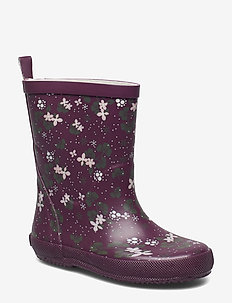 Wellies w. AOP - BLACKBERRY WINE