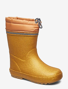 Thermal wellies w.linning - PALE GOLD
