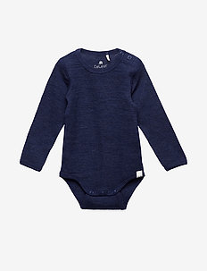 Body LS - Solid Wonder wollies - NAVY