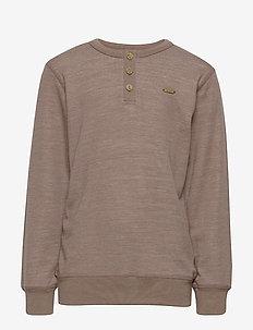 Sweatshirt - LS, Solid Melange - ACRE
