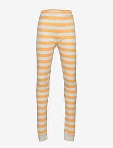 Leggings - leginsy - mineral yellow