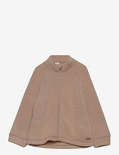 Jacket LS - wol - light taupe