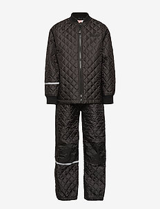 Thermal set -solid - termoklær - black