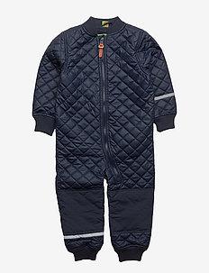 PU thermal suit -solid - DARK NAVY