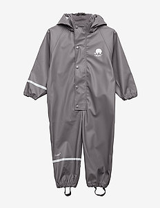 Rainwear suit -PU - sett & regndresser - grey