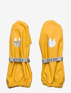PU-mittens w/o padding - winterkleding - mineral yellow