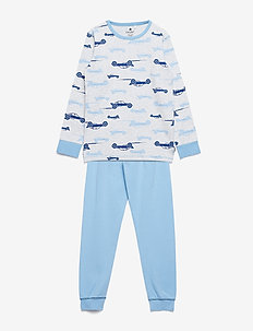 Pajamas w.AOP - zestawy - dusk blue