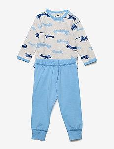 Baby Pyjamas Set - AOP - sets - offwhite melange