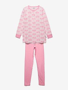 Pyjamas w. AOP - zestawy - old rose