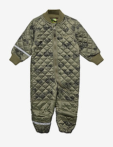 Basic thermal suit - AOP - thermo - dusty olive