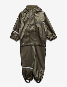 Rainwear - solid metallic - regensets und - einteiler - olive metalic
