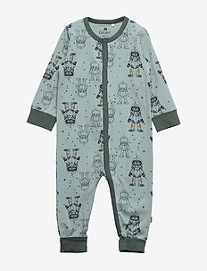 Nightsuit LS -AOP - BALSAM GREEN