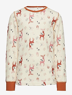 Blouse LS - AOP - ADOBE