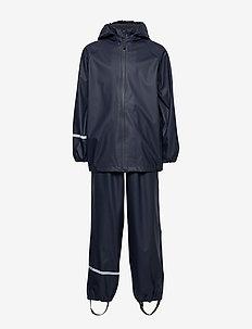 Basic rainwear set -Recycle PU - sets & suits - dark navy