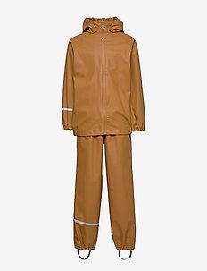 Basic rainwear set -Recycle PU - sets & suits - rubber