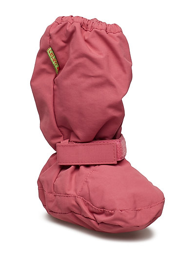 Padded soft footies -solid - ROSE WINE