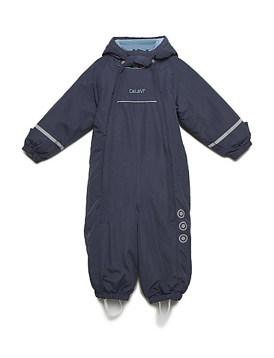 Snowsuit - Solid w 2 zippers - NAVY