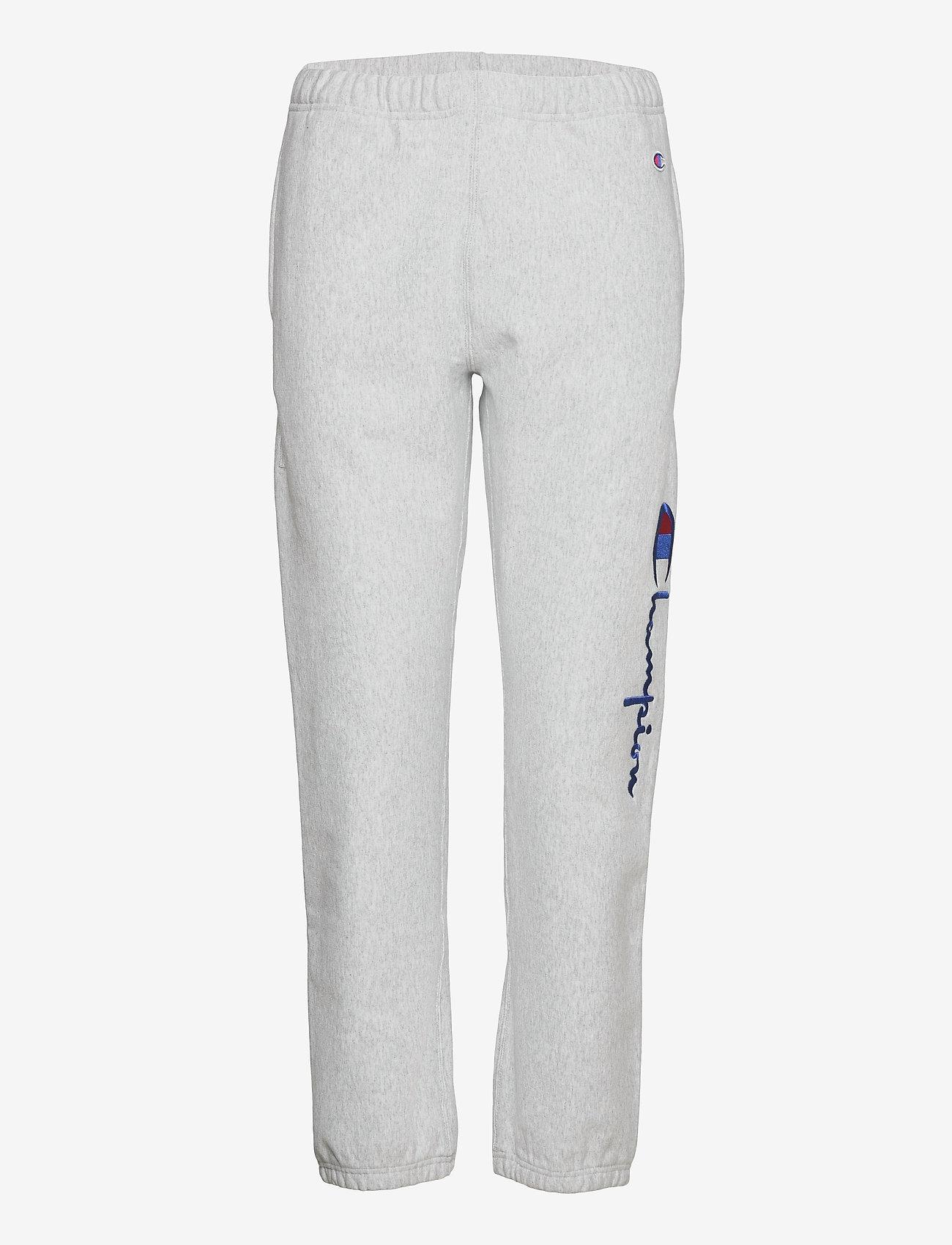 Champion Reverse Weave - Elastic Cuff Pants - jogginghosen - gray melange  light - 0