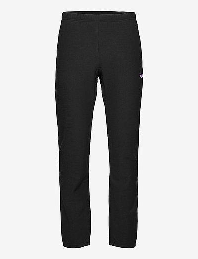 Elastic Cuff Pants - casual byxor - black beauty