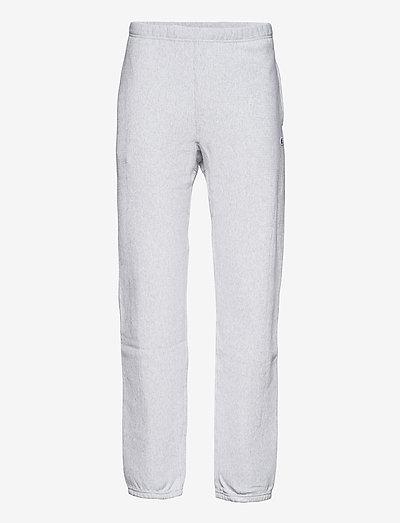 Elastic Cuff Pants - pantalons décontractés - gray melange  light